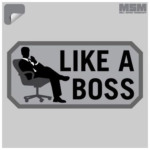 【MSM(ミルスペックモンキー)】LIKE A BOSS DECAL
