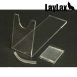【LayLax(First-Factory)】スタンド ハンドガン 1枚入り(クリア)