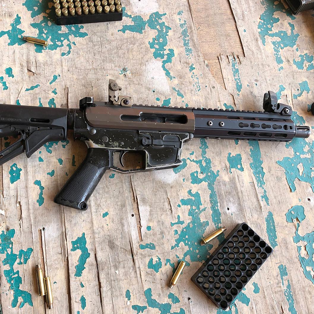 実銃を撃ってきた!その3 M4-9 & M16