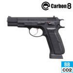 Carbon8 Cz75 2nd.version ABS ブラック CO2 ブローバック 本体